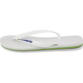 havaianas Brasil Logo Miehet sandaalit , valkoinen
